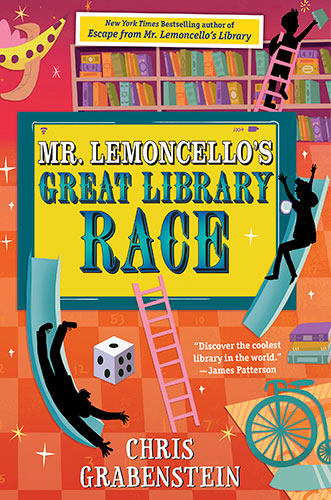 Mr Lemoncello S Great Library Race Author Chris Grabenstein S
