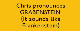 Grabenstein Pronunciation