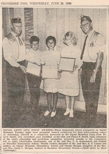 Writing Award
