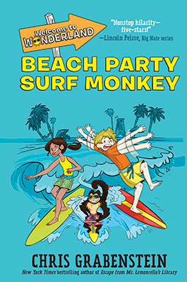 Wonderland 2: Beach Party Surf Monkey