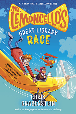 Chris Grabenstein: Mr. Lemoncello's Great Library Race