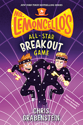 Chris Grabenstein: Mr. Lemoncello's All-Star Breakout Game